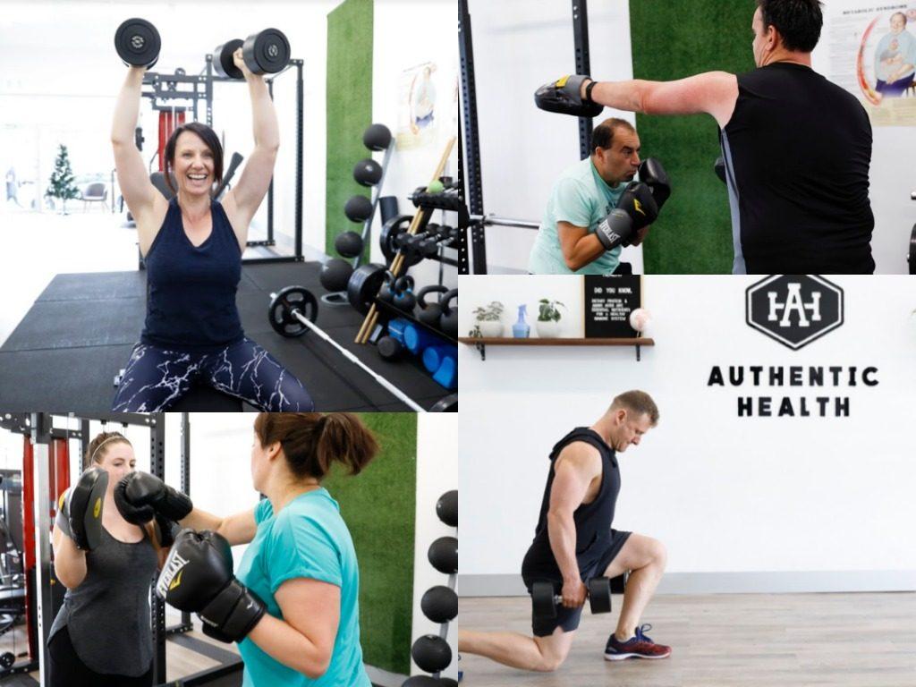 authentic health collage