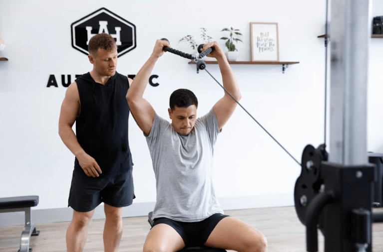 personal training with chris