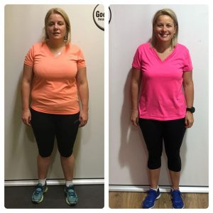 Narelle before and after