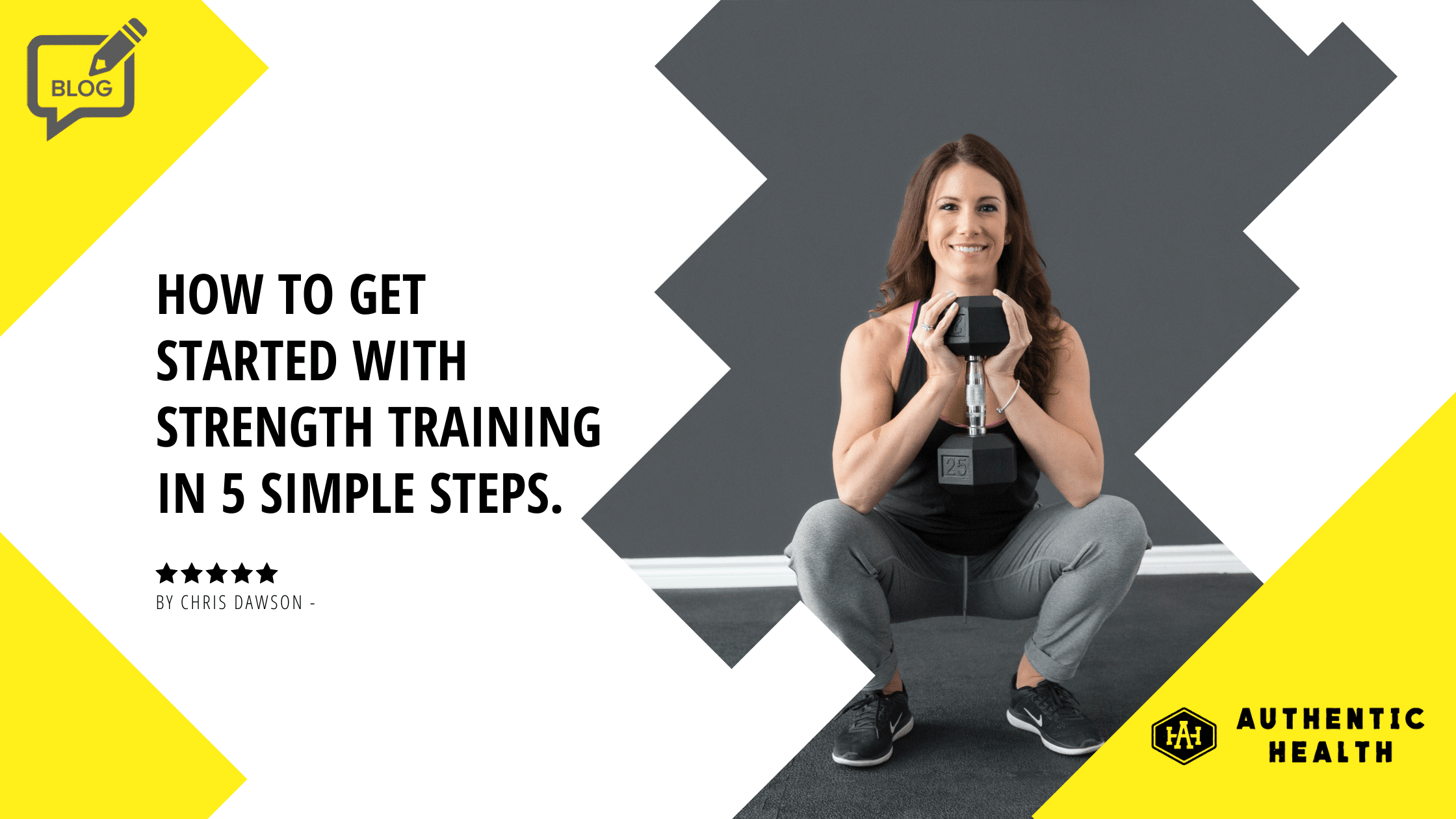 woman smiling while performing a squat exercise with weight